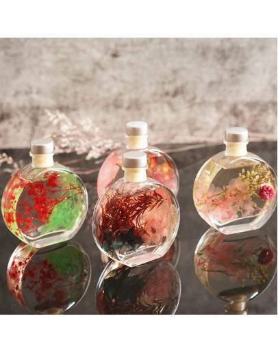 100ml香奈兒扁圓玻璃空瓶