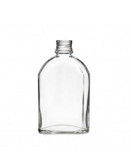 100~200ml斜肩扁平玻璃瓶