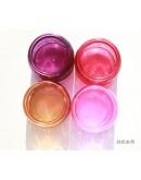 香薰蠟燭浮雕玻璃杯純色系列_120g