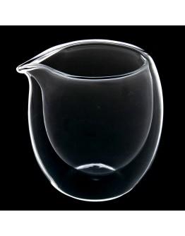 雙層隔熱分茶玻璃杯