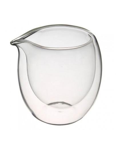 雙層玻璃杯分茶杯