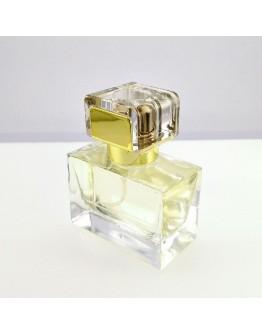 30ml扁方型厚底噴霧香水玻璃瓶