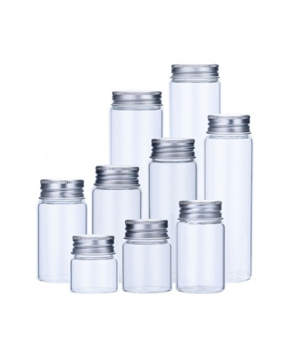 高硼硅鋁蓋試管玻璃瓶直徑47mm