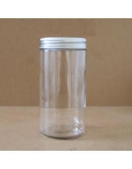 500ml直筒鋁蓋玻璃瓶