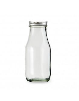 鋁蓋300ml玻璃方瓶