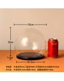 圓球玻璃罩直徑25cm