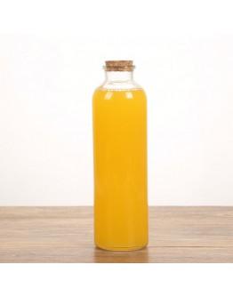 軟木塞玻璃瓶500ml