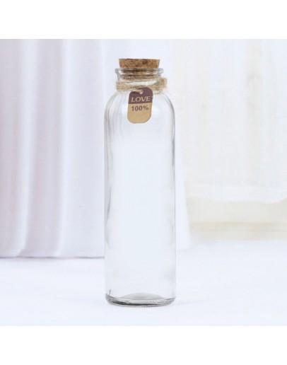 軟木塞玻璃瓶350ml