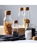 軟木塞高硼硅玻璃儲物瓶