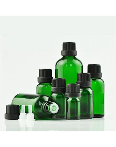 綠色精油瓶黑色大頭蓋