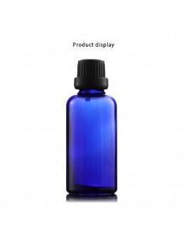 藍色精油瓶黑色大頭蓋