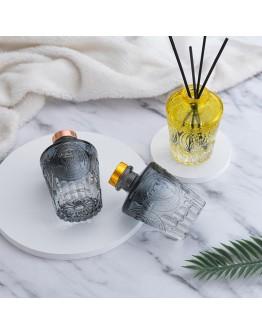 羅馬浮雕擴香玻璃瓶