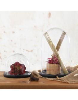 圓型玻璃罩直徑10cm