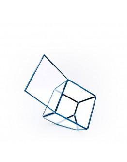 北歐幾何玻璃花房C款