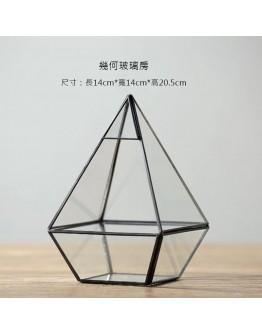 北歐幾何玻璃花房F款