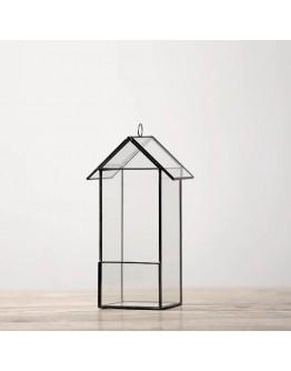 北歐幾何玻璃花房K款