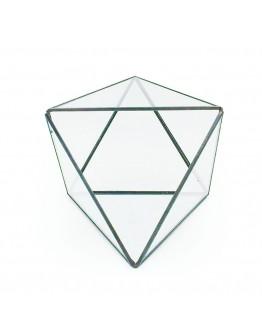 北歐幾何玻璃花房J款