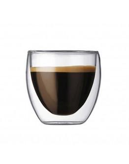 80ml雙層隔熱玻璃杯