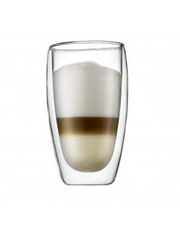 450ml雙層隔熱玻璃杯