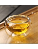 50ml雙層隔熱玻璃杯