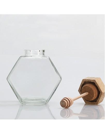 六角蜂蜜瓶
