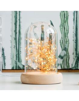 火樹銀花可調亮度LED夜燈
