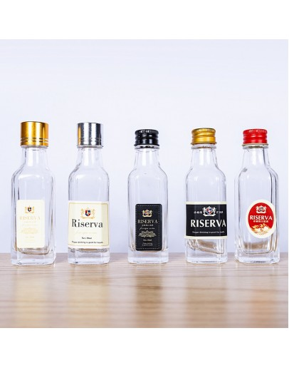 30ml 鋁蓋方形玻璃瓶