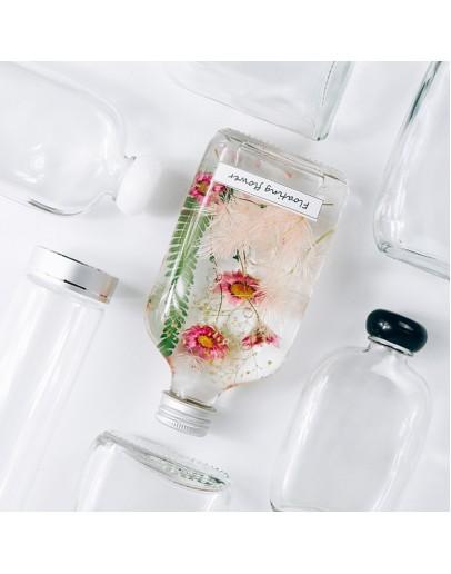 200ml扁平玻璃瓶