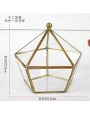 北歐幾何玻璃花房L款