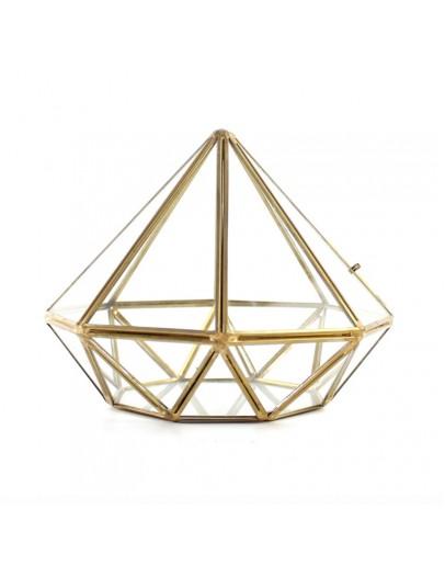 北歐幾何玻璃花房M款