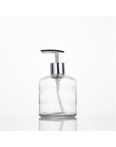 350ml玻璃按壓式分裝瓶