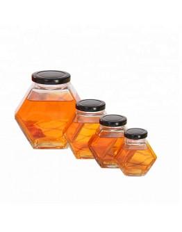 六角鐵蓋蜂蜜瓶