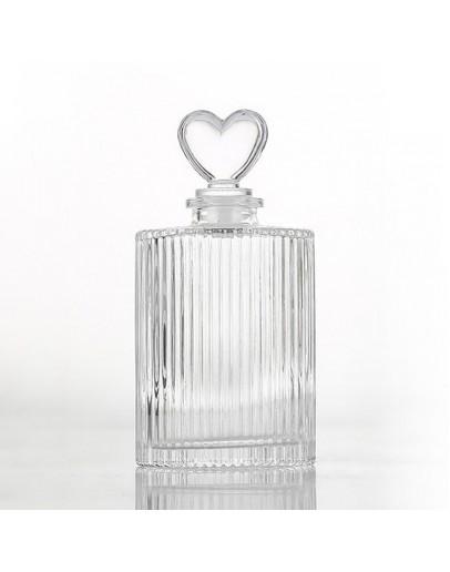 200ml直紋香薰玻璃瓶