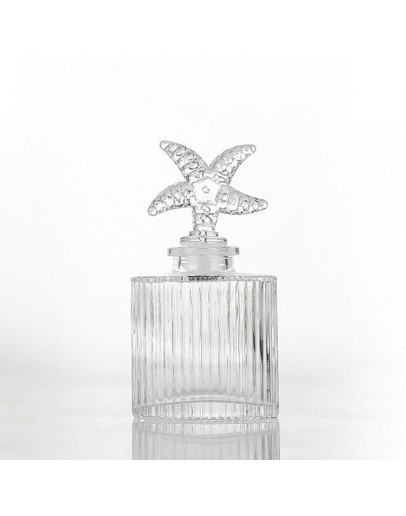 100ml直紋香薰玻璃瓶