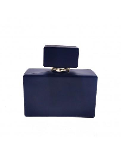 50ml卡口矮扁方啞黑香水瓶