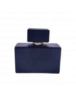 50ml矮扁方啞黑香水瓶