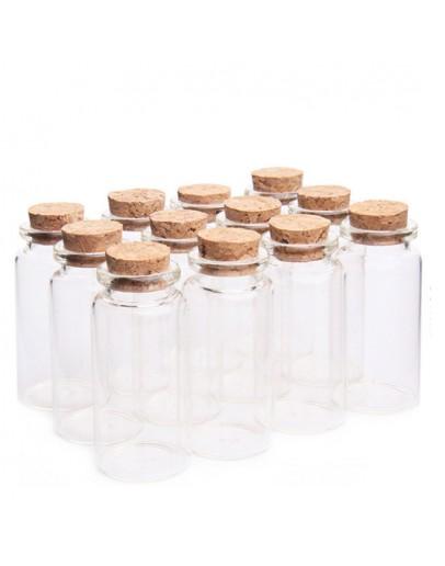 高硼硅卡口木塞玻璃瓶直徑30mm