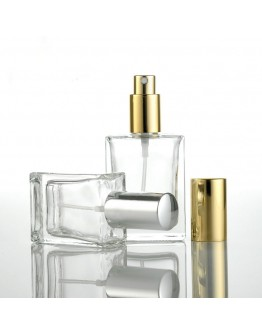 50ml扁方型噴霧香水玻璃瓶