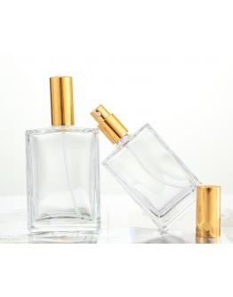 100ml扁方型噴霧香水玻璃瓶