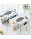 地中海風格彩繪面紙盒