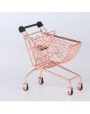 迷你扇形購物車-玫瑰金