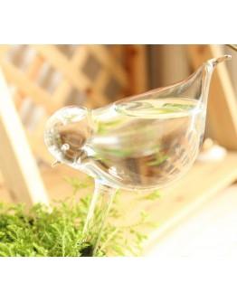 玻璃小鳥澆花器