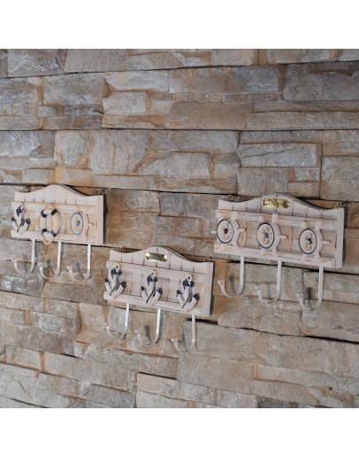 地中海裝飾木質掛鉤