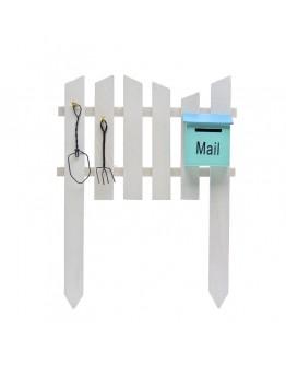 郵箱圍牆微景觀創意花插