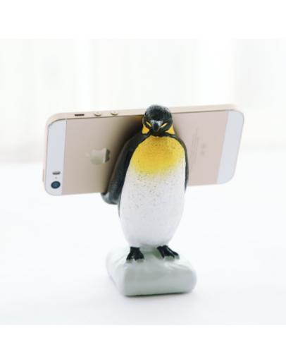 企鵝手機支架