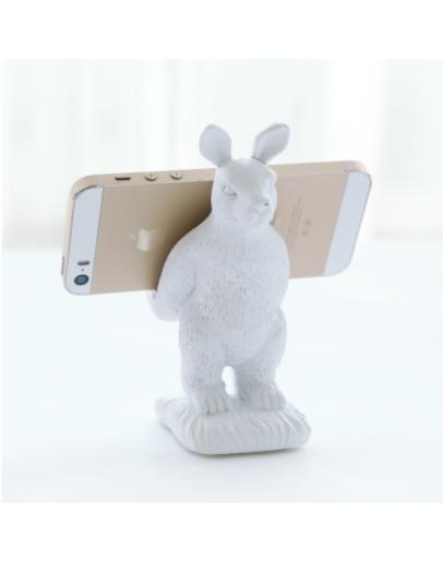 白兔手機支架