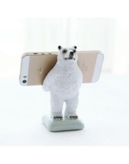 北極熊手機支架