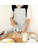 北歐風創意幾何系列純棉圍裙