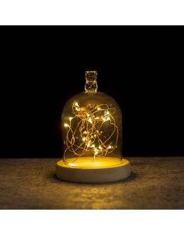 火樹銀花小熊造型LED夜燈