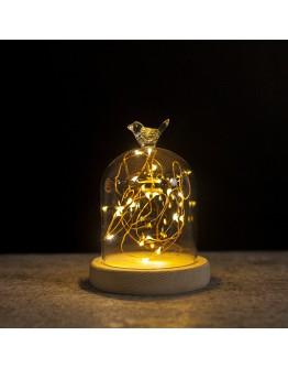 火樹銀花圓球頭造型LED夜燈